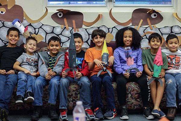 Water Rockets at Southwest Regional Library Community Impact