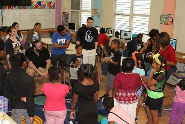 Life Science Workshop at Little Haiti Optimist Club Community Impact