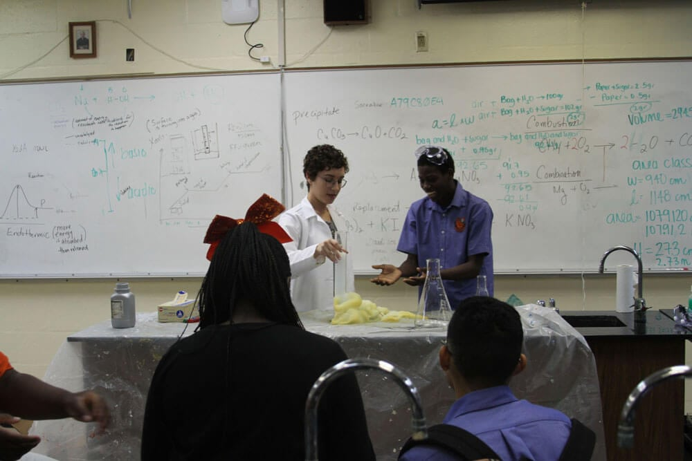 Stem Workshop at Archbishop Curley Notre Dame High School Community Impact